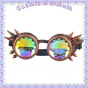 Other - 🆕❤️Copper Red Spike & Rainbow Steampunk Lenses❤️